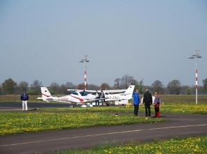 Flugplatz Tankstelle